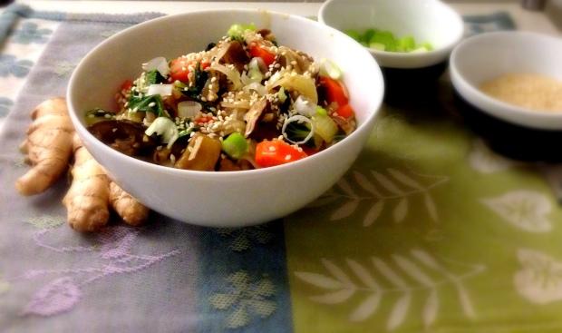 Miso Noodle Bowl