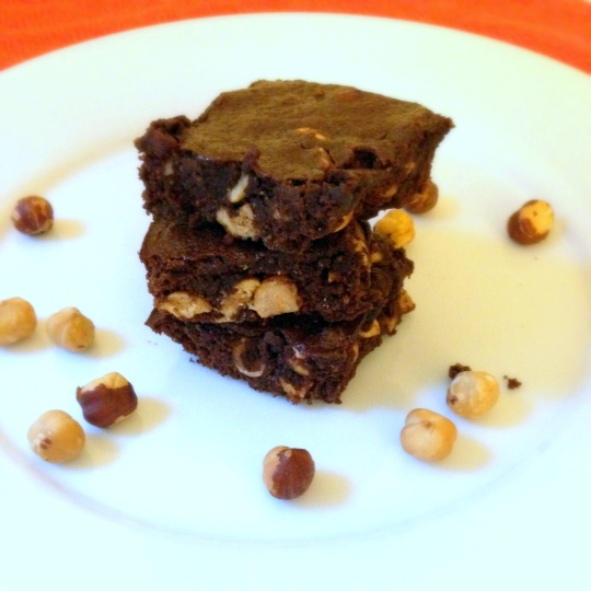 Nutella Brownies - www.cloudthyme.com