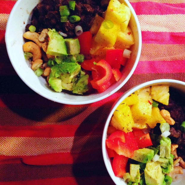 Vegan Caribbean bowl - www.cloudthyme.com