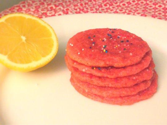 Pink Lemonade Cookies - www.cloudthyme.com