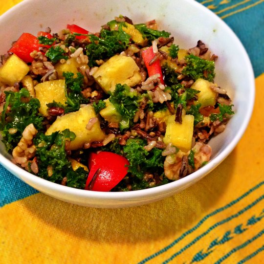 Summer Wild Rice Salad - www.cloudthyme.com