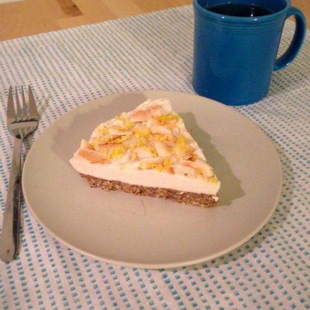 Lemon Macadamia Cheesecake (Vegan + GF)