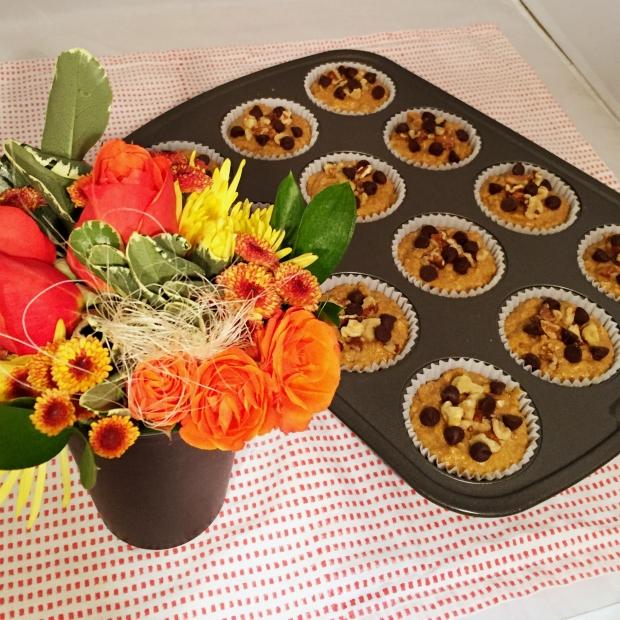 Pumpkin Banana Nut Muffins - www.cloudthyme.com